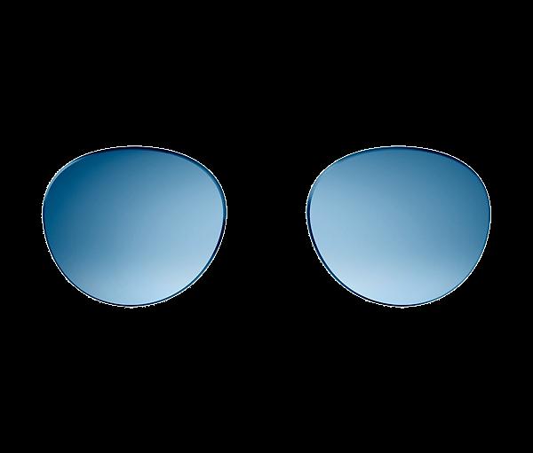Bose Frames Lens Collection, Rondo Style, interchangeable replacement lenses, Gradient Blue